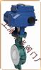 衬氟蝶阀、电动阀门:电动对夹式衬氟蝶阀